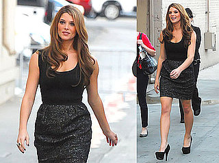 Pictures of Eclipse's Ashley Greene at the Jimmy Kimmel Show