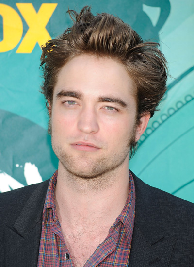 Robert Pattinson in August 2009: Teen Choice Awards