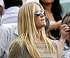 Slide Picture of Brooklyn Decker Watching Andy Roddick at Wimbledon
