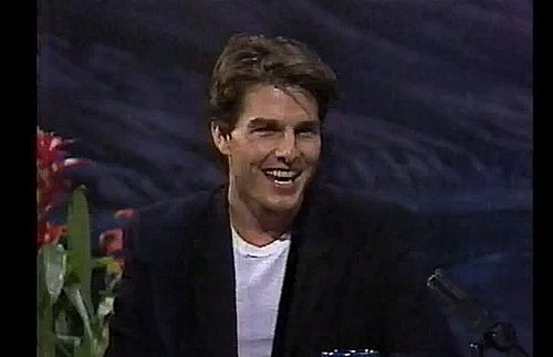 Video: Tom Cruise on Jay Leno in 1992