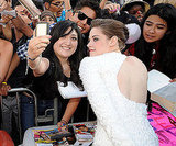 3. Kristen's All For the Fans, Even Ones Who Draw on Her Face!