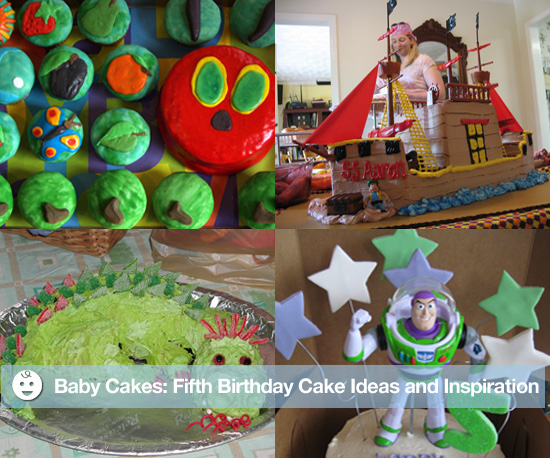 Baby Cakes: Fifth Birthday Cake Ideas and Inspiration