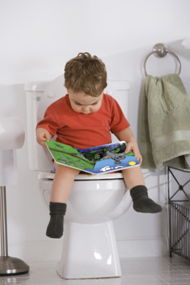 Teach Boys to Sit or Stand While Peeing?