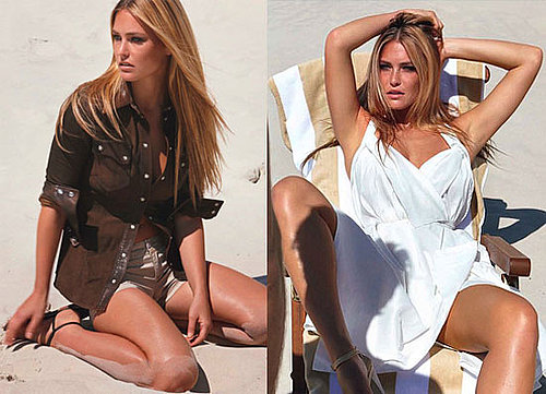 Pictures of Bar Refaeli in July 2010 Allure Magazine