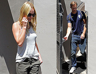 Pictures of Kate Bosworth and Alexander Skarsgard Watching the World Cup