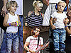 Pictures of Gwen Stefani, Gavin, Zuma, and Kingston Rossdale at Taste of Chicago