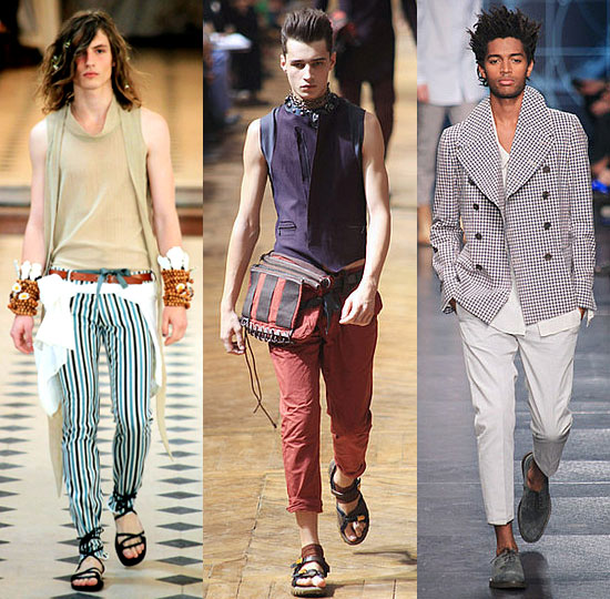 Cool Prints and Tailored Separates at Paris Men's Fashion Week!