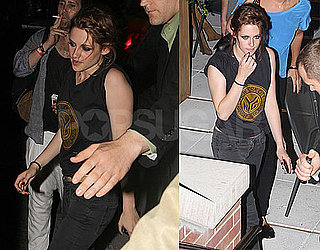 Photos and Video of Eclipse Star Kristen Stewart on The Late Show