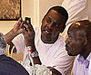 Slide Picture of Jay-Z With iPhone in New York
