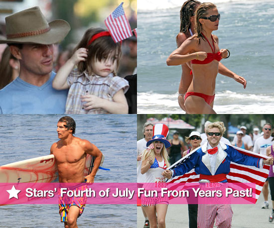 Happy Fourth of July — Stars' Independence Day Fun From Years Past!