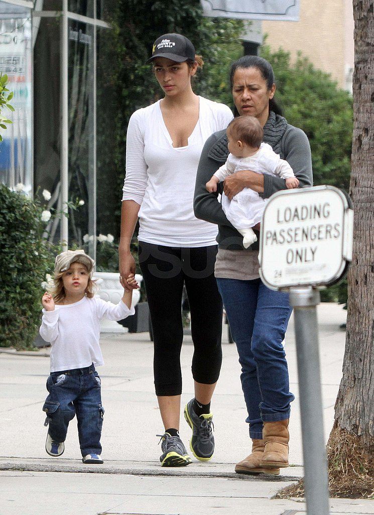 Pictures of Camila Alves with Levi and Vida
