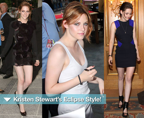 Kristen Stewart Pulls Out All the Style Stops For Eclipse