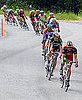 Drafting in Cycling Defined and Picture of Echelon Formation