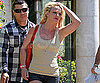 Slide Picture of Britney Spears Leaving Lunch in LA