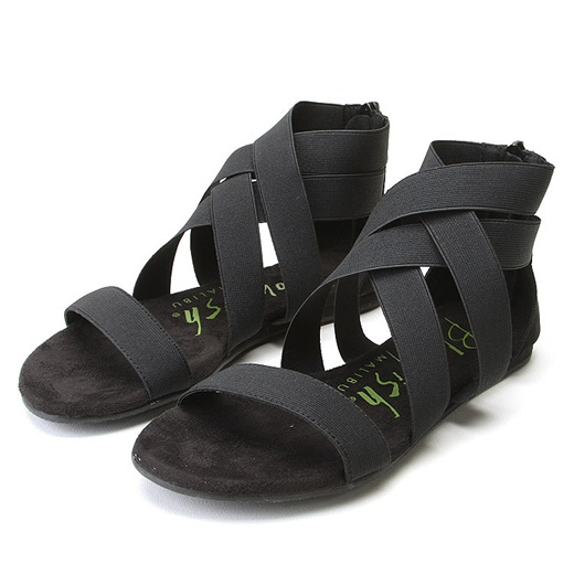 Blowfish Liv Elastic Sandals