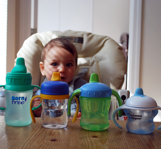 Finding the Best Sippy Cup