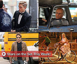 Robert Pattinson, Larry David, and More in Stars on the Set This Week!