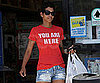 Slide Picture of Halle Berry in Daisy Duke Denim Shorts