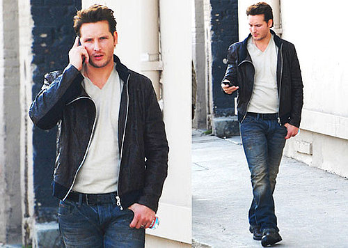 Pictures of Eclipse's Peter Facinelli Leaving Jimmy Kimmel Live
