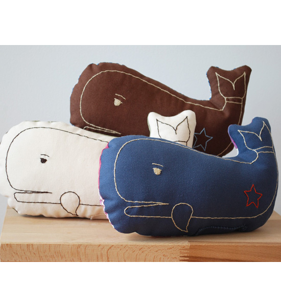 Whale Pillows