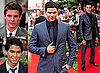Kellan Lutz, Alex Meraz, Xavier Samuel and Booboo Stewart at Eclipse London Premiere