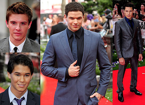 Pictures of Kellan Lutz, Alex Meraz, Xavier Samuel and Booboo Stewart at Eclipse London Premiere