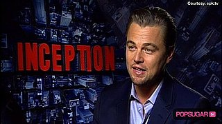 Video of Leonardo DiCaprio Inception Interview
