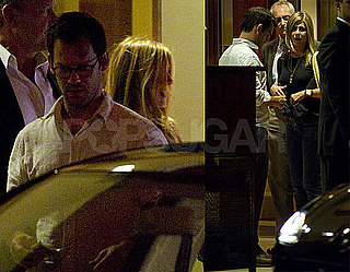 Pictures of Jennifer Aniston With a Mystery Man at the Sunset Towers