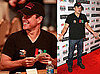 Pictures of Matt Damon at a Charity Poker Event