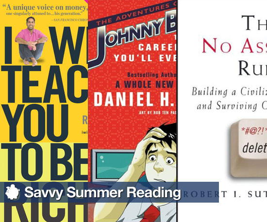 7 Savvy Summer Reading Picks