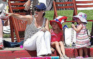 Pictures of Jennifer Garner, Violet Affleck and Seraphina Affleck