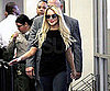 Slide Picture of Lindsay Lohan at LA Courthouse For Hearing
