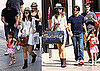 Pictures of Tom Cruise, Katie Holmes, Suri Cruise, and Isabella Cruise Shopping Together in LA