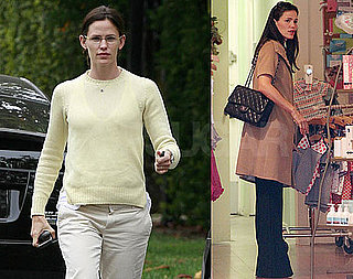 Pictures of Jennifer Garner Shopping For Kids Clothes in LA