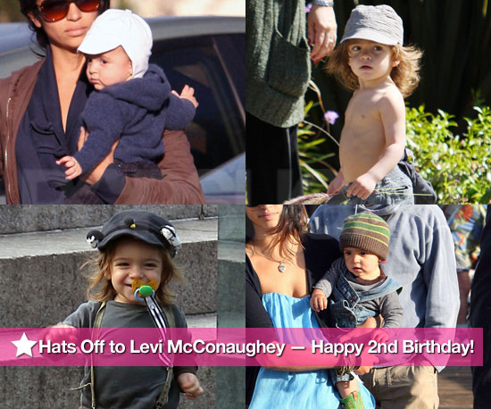Hats Off to Levi McConaughey — Happy 2nd Birthday!
