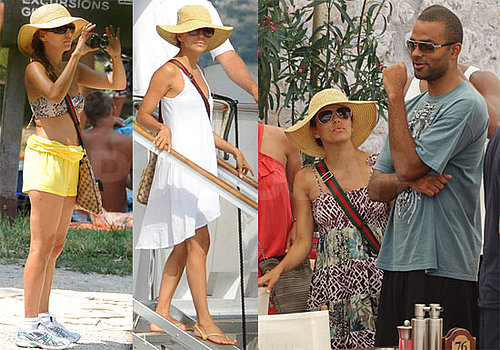 Pictures of Eva Longoria and Tony Parker Vacationing in Croatia