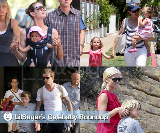 Pictures of Celebrities and Their Children 2010-07-06 15:10:58
