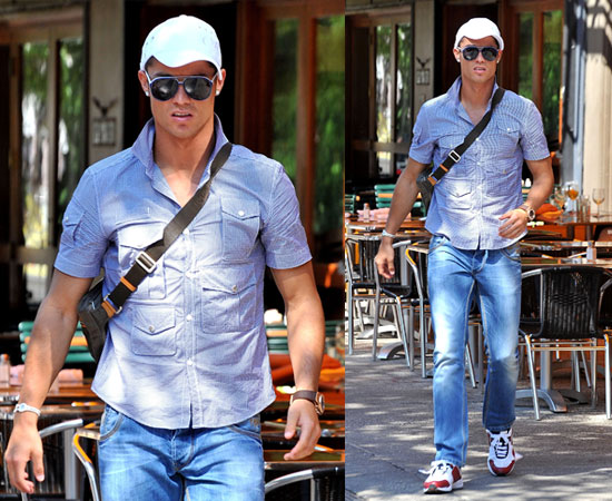 Pictures of Cristiano Ronaldo in NYC After Announcing He Is a Father to a Baby Son Speculation About Surrogate Mother