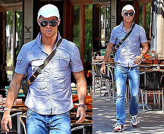 Cristiano Ronaldo in NYC After Announcing He Is a Father to a Baby Son Speculation About Surrogate Mother 2010-07-06 20:00:59