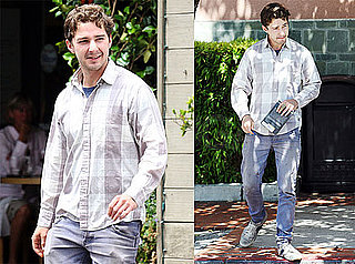 Pictures of Shia LaBeouf Grabbing Lunch in LA