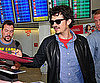 Slide Picture of Orlando Bloom Signing Autographs in Berlin