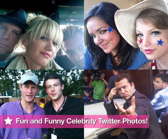 This Week&#039;s Fun and Funny Celebrity Twitter Photos! 2010-07-08 09:15:00