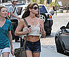 Slide Picture of Ashley Greene Showing Stomach in New York