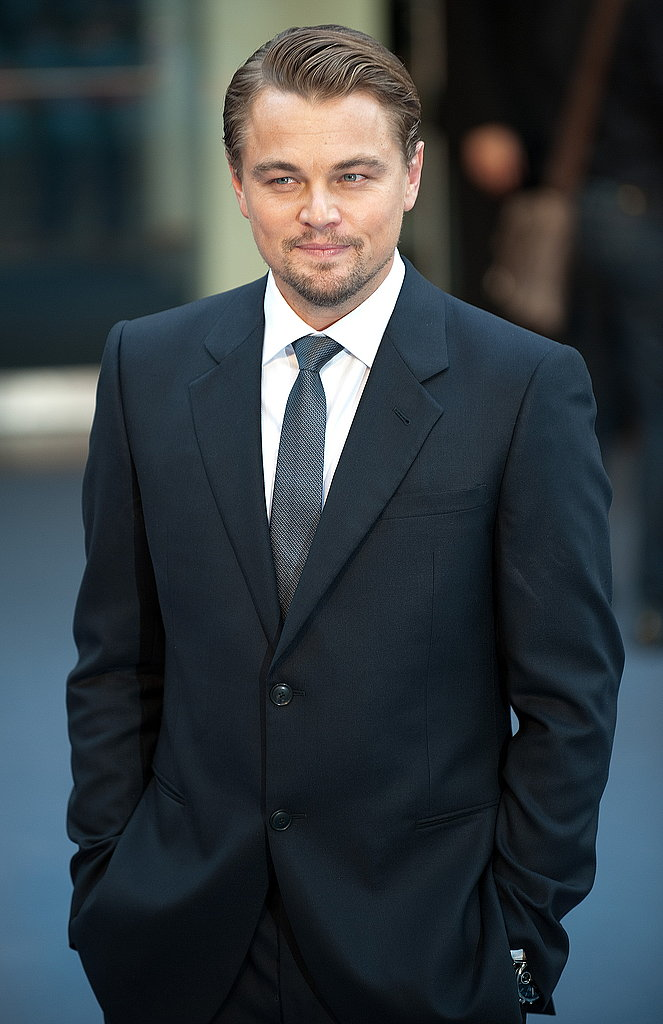 Leonardi DiCaprio at Inception London Premiere