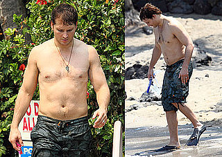Pictures of Eclipse Star Peter Facinelli Shirtless in Hawaii