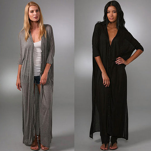 Enza Costa Floor-Length Cardigan