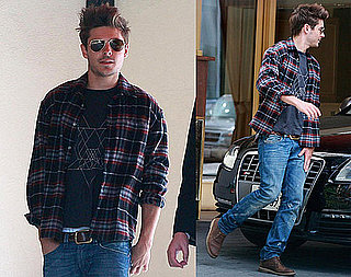 Pictures of Zac Efron Leaving Sunset Tower in LA