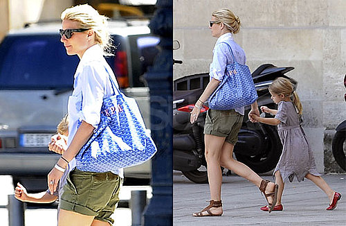 Pictures of Gwyneth Paltrow Walking in Paris With Daughter Apple Martin