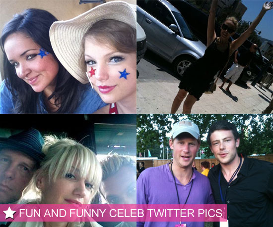 Gwen, Taylor, Kylie and Cory in This Week's Funny Celebrity Twitter Photos!