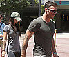 Slide Picture of Megan Fox and Brian Austin Green at the Cheesecake Factory